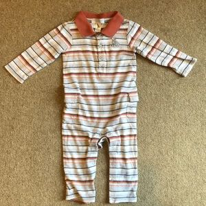 Janie and Jack husky dog layette 12-18months